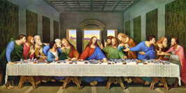 Leonardo da Vinci Last Supper Wall Art Mural Ceiling Wall Paper Adhesive Vinyl - $43.11+