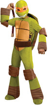 Deluxe Michelangelo Teenage Mutant Ninja Turtle Halloween Jungen Kostüm ... - $29.35