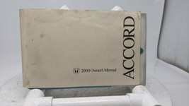 00 Accord OEM Owners Manual Users Guide Operators Hand Book 11X628 - $25.04