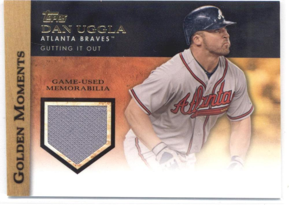 Primary image for 2012 Topps Golden Moments Relics #GMR-DU2 Dan Uggla S2 NM-MT (Memorabilia / Game