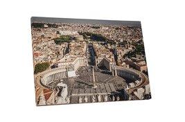 "Pingo World 0429QB0N5KY ""Rome Vatican Saint Peter Square Skyline"" Galler... - $54.40"