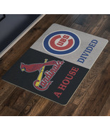 St Louis Cardinals Chicago Cubs A House Divided Man Cave Baseball Decor ... - $37.00