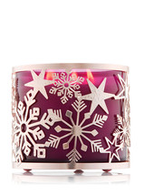 Stars & Snowflakes: 3-Wick *Bath & Body Works* Candle Holder - $8.39