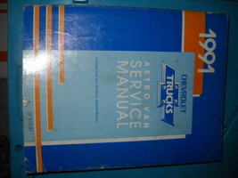 1991 Gm Chevy Astro Van Service Repair Shop Manual Oem Factory Dealership - $9.89