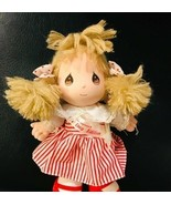 Precious Moments Applause Kids Plush Baby Girl Doll Stuffed Toy - $17.82