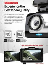 "Lukas LK-9370 Blackbox Dash Camera 2CH Full HD Wi-Fi 3.5""LCD Dual 64Gb+8Gb+GPS image 9"