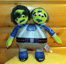 "Disney Miles From Tomorrowland 14"" Plush Watson & Crick Two Head Alien - $8.89"