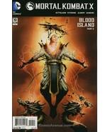 Mortal Kombat X #10 FN; DC | save on shipping - details inside - $7.50