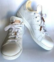Adidas Original Stan Smith Women Size 6 White Grey Gold sz 6 - $39.59