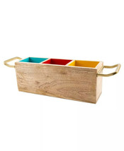 Thirstystone Tri-Color Wood Caddy. NEW - $29.99