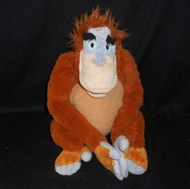 Disney Magasin Jungle Livre Coeur King Louie Orang-Outan Animal en Peluche Jouet - $18.50