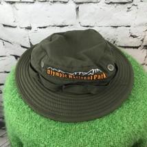 Olympic National Park Junior Ranger Boys Sz 54cm Hat Army Green Bucket S... - $23.76