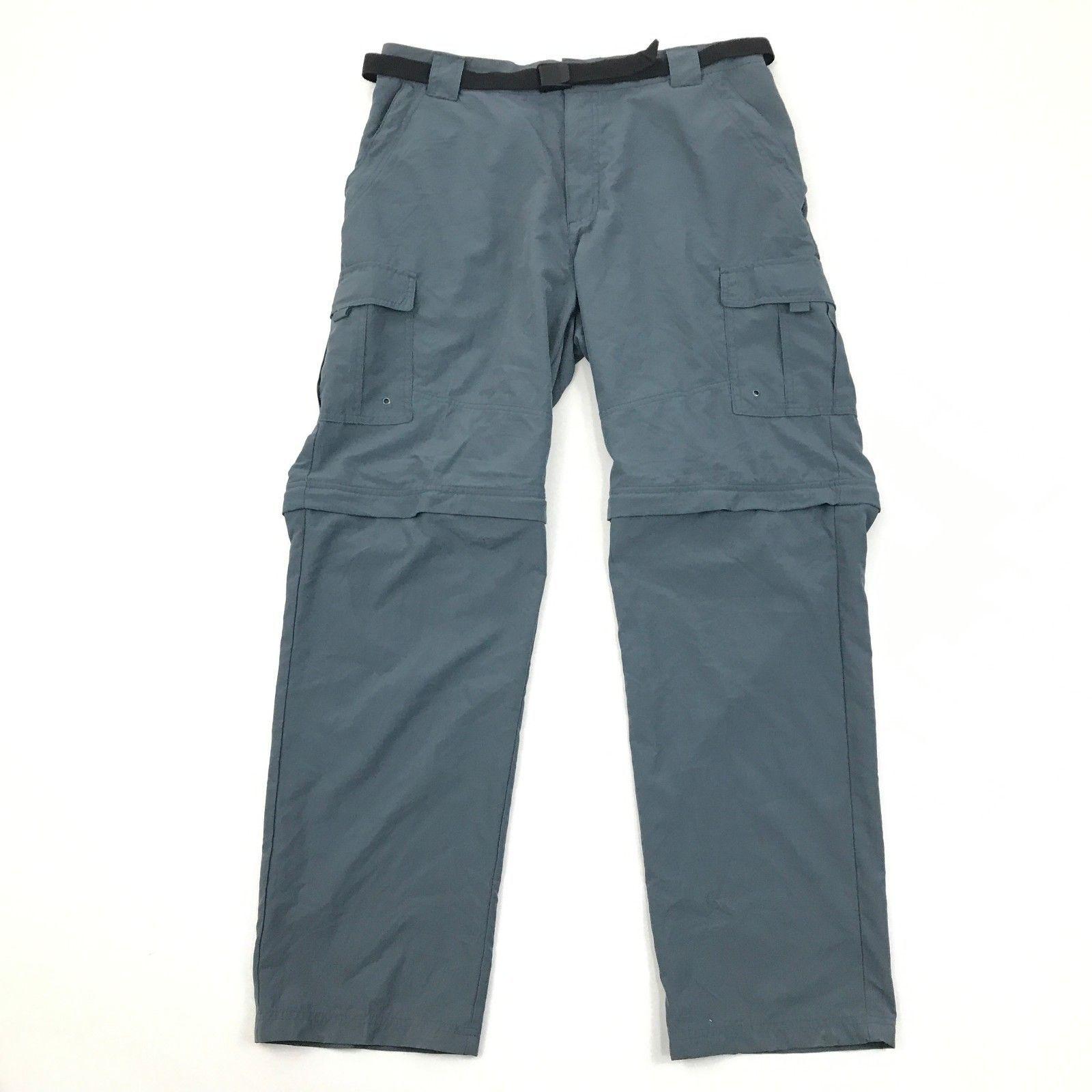 Rugged Exposure Convertible Pants Xl Adult Nylon Water