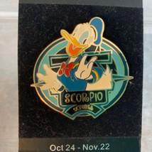 Walt Disney World Trading Pin Zodiac Scorpio Donald Duck October LE - $18.55