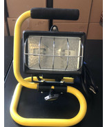 Heavy Duty Portable Low-Profile HALOGEN WORK LIGHT for Project and Job Site - $19.80