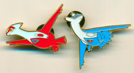 Dragon Majesty Latias + Latios Pins from Collection Box, Set of 2 Pokemo... - $11.99