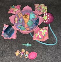 Polly Pocket 1996 Fountain Fantasy COMPLETE Bluebird Vintage - $59.39