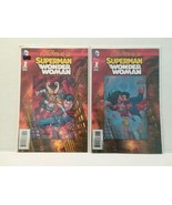 SUPERMAN/WONDER WOMAN #1: FUTURES END - 2 COVERS - FREE SHIPPING! - $9.50