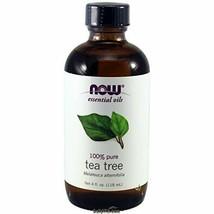 Tea Tree Oil Now Foods 4 oz EssOil - $25.38