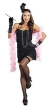 Black Flapper Dress Costume - $21.99