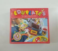 Eduplates Mixed Up Barnyard Rare Educational Game Party Kit For 8 NEW SE... - $30.38
