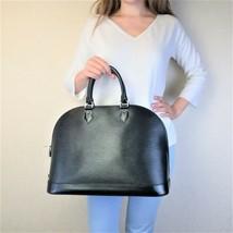 Louis Vuitton Black Epi Leather Alma MM Bag - $849.00