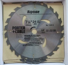 """Porter Cable 12810-10 7-1/4"""" X 24T Riptide Saw Blade 10 Pack - $32.18"""