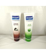 Lot of 2 Dermasil Moisturizing Body Lotion Cocoa Butter and Aloe Fresh NEW - $9.89