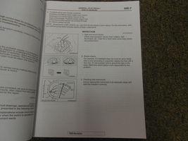 2011 MITSUBISHI Lancer Evolution Electrical Supplement Service Repair Manual NEW image 8