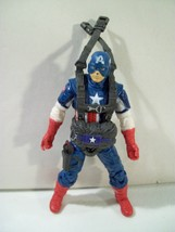 MARVEL CAPTAIN AMERICA AERIAL INFILTRATION MISSION ACTION FIGURE HASBRO ... - $12.69