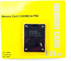 OLD SKOOL 128MB Memory Card Game Memory Card for Sony Play Station 2 PS2 - $13.58