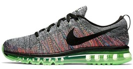 NIKE FLYKNIT AIR MAX MULTI-COLOR WOMEN SIZE 7.5 NEW RARE SHOES (620659-103) - $184.55