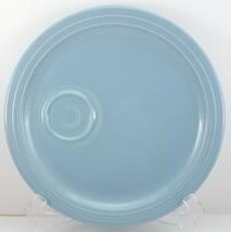 """Homer Laughlin Fiesta Periwinkle Snack Plate 10.75"""" Blue Fiestaware - $14.44"""