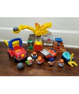 Fisher Price Little People Rock Quarry Construction Set and Dump Truck - $33.85