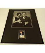 John F Kennedy JFK Facsimile Signed Framed 16x20 Photo Display w/ Jackie - $79.19
