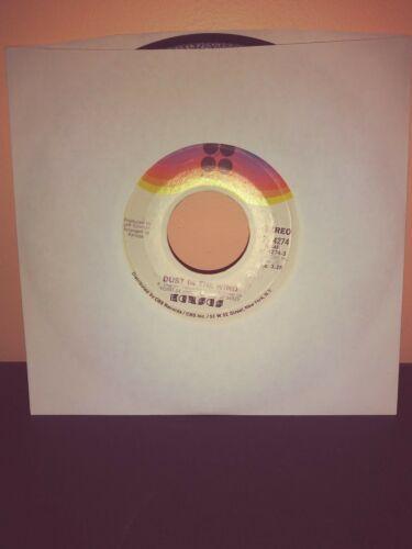 Kansas -Dust In The Wind / Paradox - Vinyl 45 -1977 -Kirshner -Vinyl Record