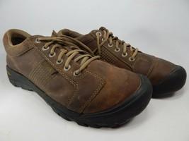 Keen Austin Size: 12 M (D) EU 46 Men's Lace-Up Oxford Casual Shoes Brown 1007722