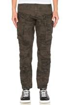 G Star Rovic Zip 3D Tapered Cuffed Pants, Grey/Asfalt, Size W35/L34 BNWT... - $89.75