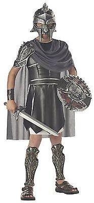 Bambini Gladiatore Greco Romana Guerriero Soldato Costume Halloween M-XL 00325