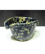 Bennington Potters Vermont Blue Agate Batter Bowl  Mixing Pancake Baking... - $25.74