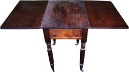18276 Country Drop Leaf Stand with Drawer - $265.00
