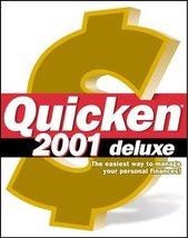 Quicken 2001 Deluxe - $22.76