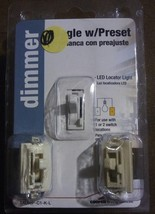 Cooper Wiring TAL06P-C1-K-L Dimmer Single Pole 3 Way LED 3 Colors 300w 6... - $29.99