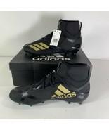 Adidas Adizero 5-Star 7.0 Mid Cleat Men's Football Black Gold SIZE 12.5 ... - $74.24