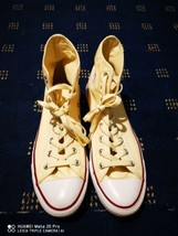 Converse all star, Mens Size 9 Half, Cream, Bnew, Tagged - $36.50