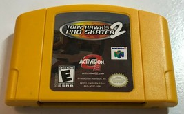 Tony Hawk's Pro Skater 2 (Nintendo 64, 2001) N64 Game Cartridge - $19.99