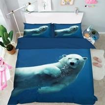 3D Sea Animal 25 Bed Pillowcases Quilt Duvet Cover Set Single Queen King Size AU - $64.32+