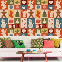 3D Christmas Many patterns 28 WallPaper Murals Decal Wall Deco AJ WALLPAPER - $32.15+
