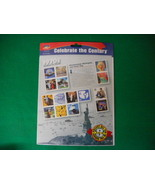 Celebrate the Century 1970's Mint Stamp Sheet NH VF Original pk - $5.57