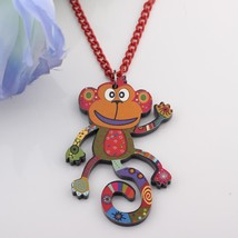 monkey lovely new 2014 spring/summer style necklaces & pendant for girls... - $13.24